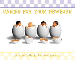 Caring For Your Newborn Booklet Cover