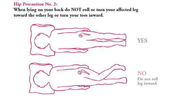 Do not turn your toes inward.