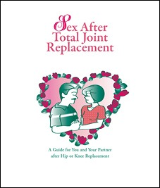 Cover Sex After Total Joint Replacement Booklet
