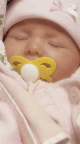 Shhh! Baby is sleeping