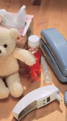 Items needed for sick baby