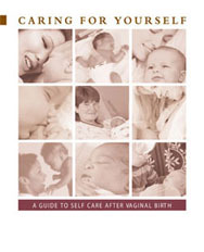 Cover Caring For Yourself After Vaginal Birth Booklet