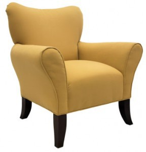 Sturdy chair with arms