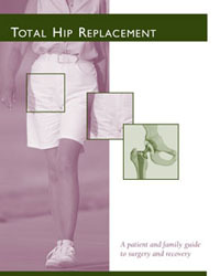 Cover of Total Hip Replacement booklet