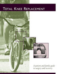 Cover of Total Knee Replacement Booklet
