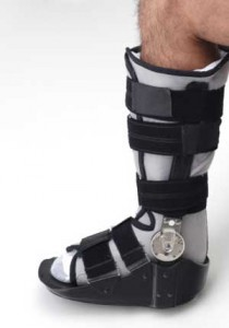 Ankle Brace After Severe Ankle Injury